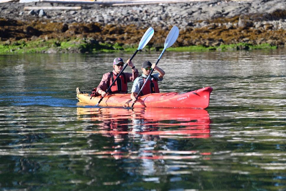 Peter Kayaking