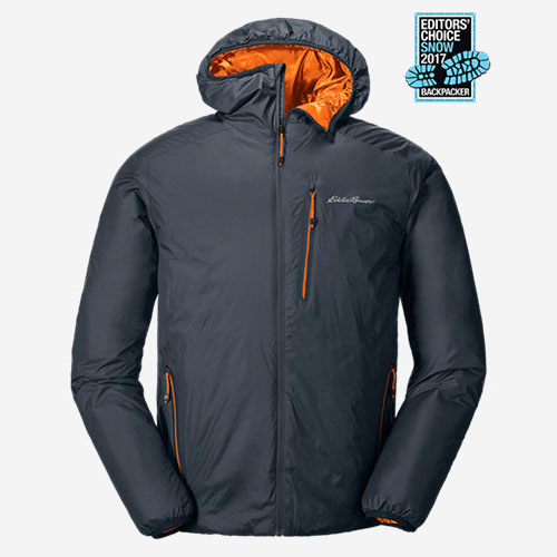 Eddie Bauer Men's Evertherm Down Hooded Jacket