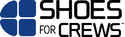 Shoe for crews logo