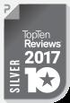 TopTenReviews – Silver Award 2017
